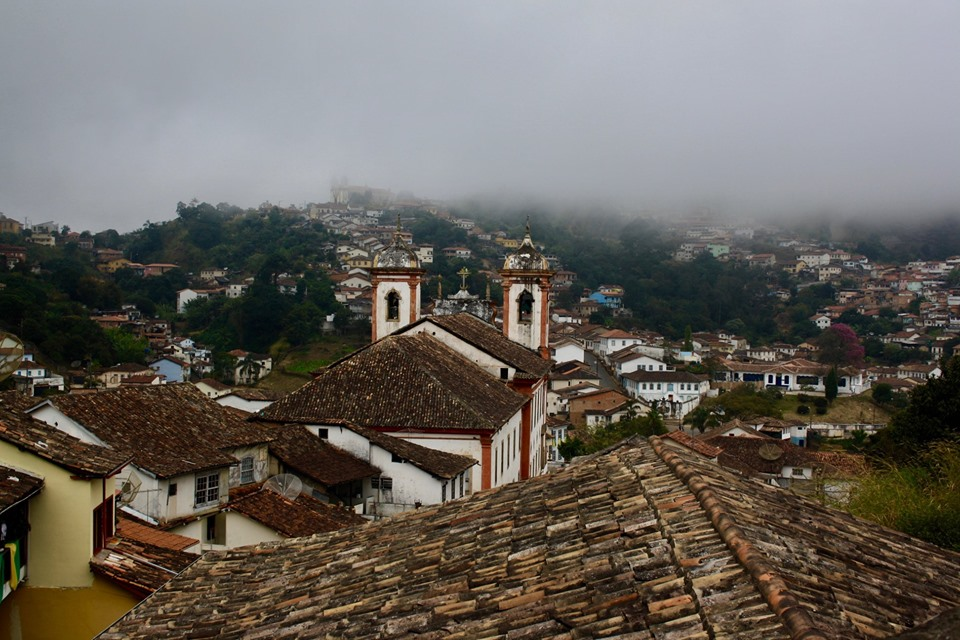 Mountain town in Minas Gerais.