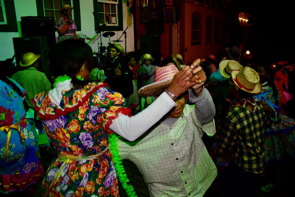Dancing Ouro Preto.