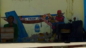Street art Senegal.