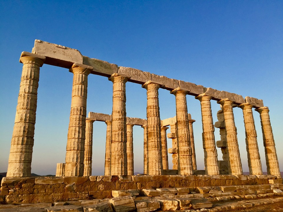 Poseidon temple Cape Sounion.