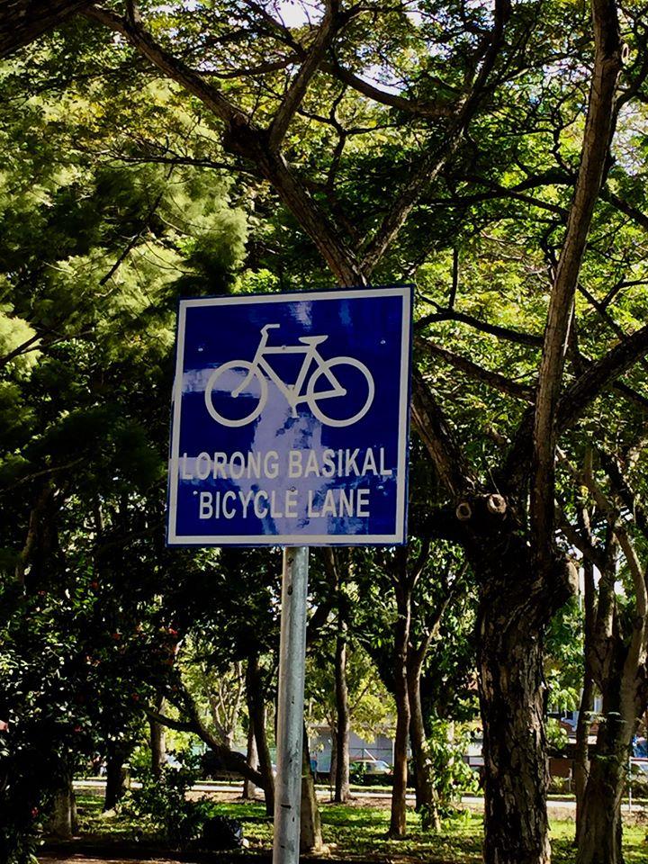 Bicycle lane Malaysia
