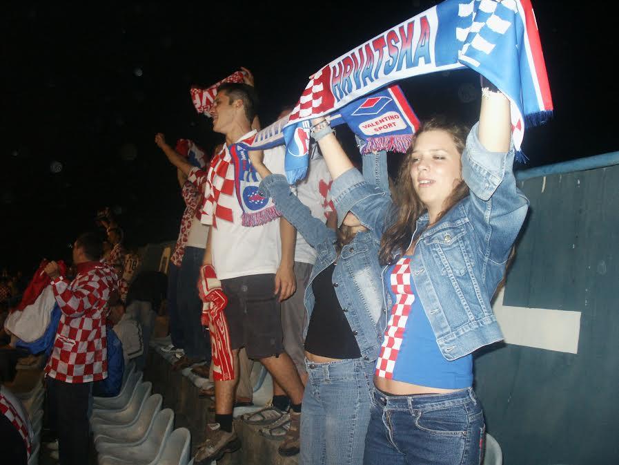 Croatian fans.