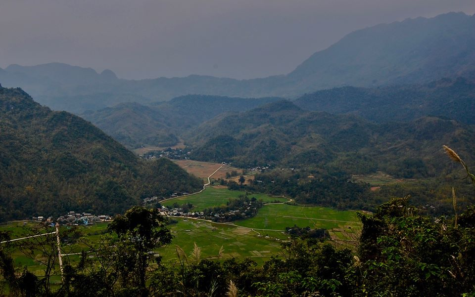 Mai Chau valley.