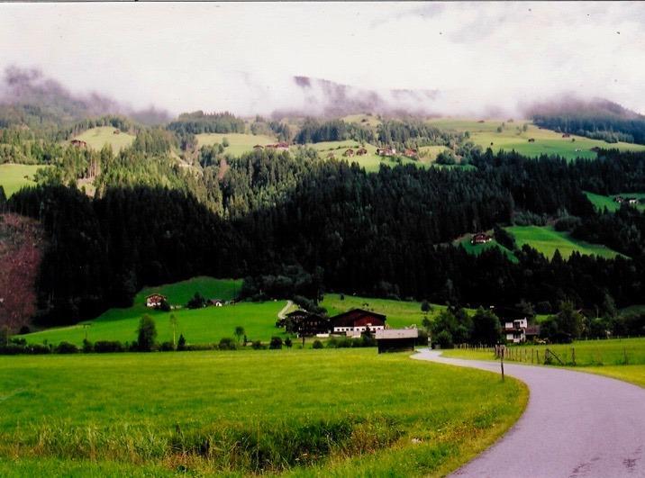 Bike path Austria.