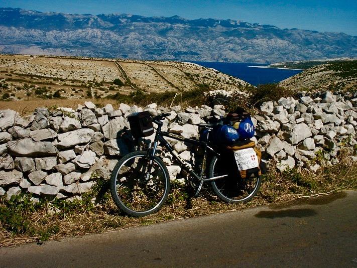 Cycling Croatia.