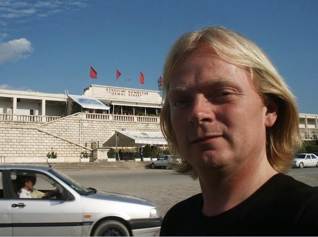 Stadium Tirana.