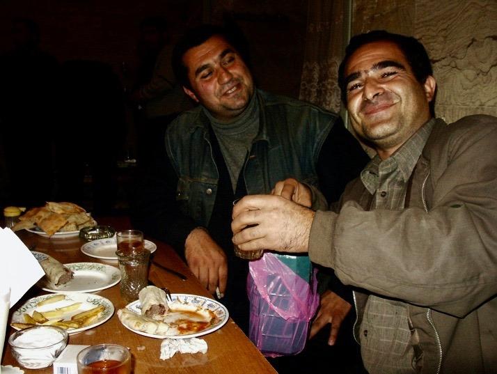 Friendly Georgians.