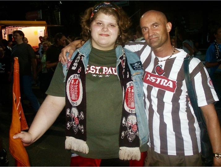ST Pauli fans.