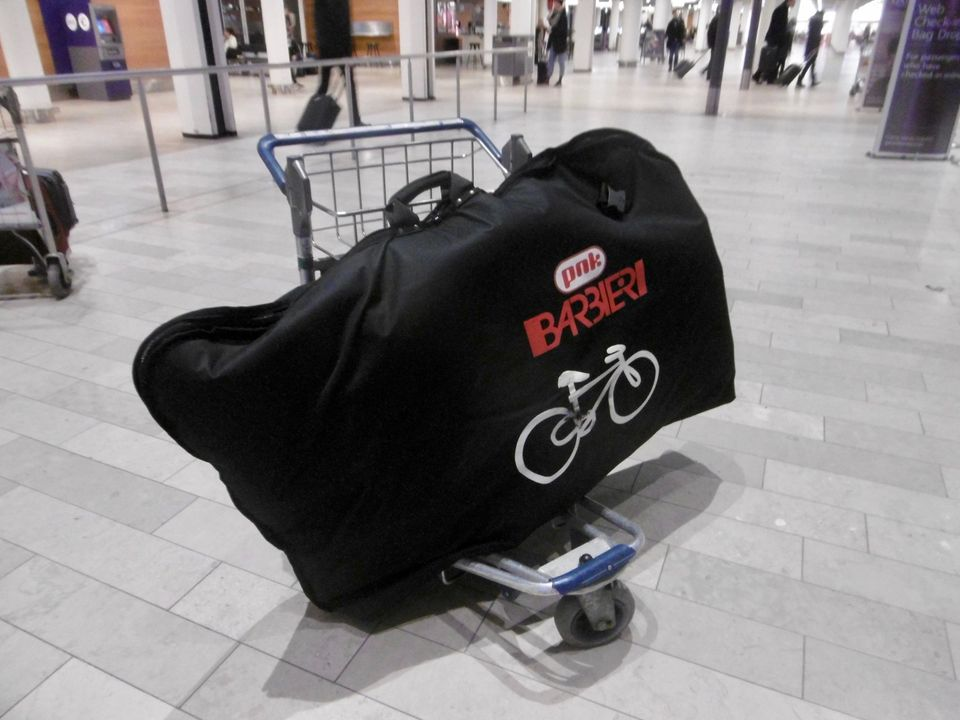 soft bag bicycle flying