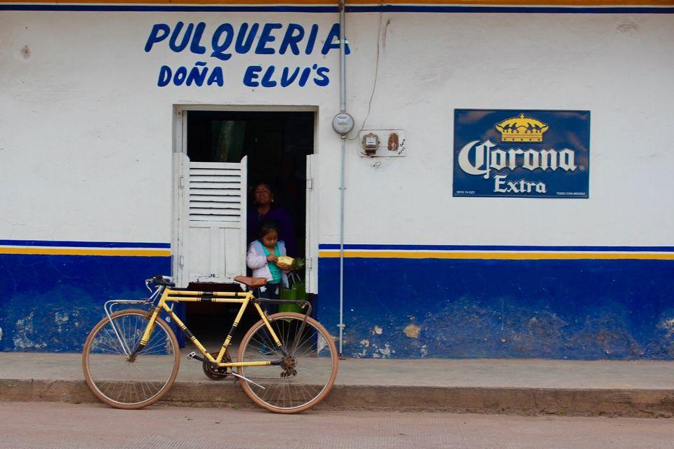 Bicycle bar Mexico.