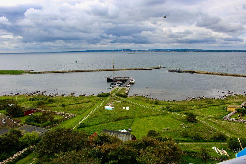 Lighthouse Hirsholmene.