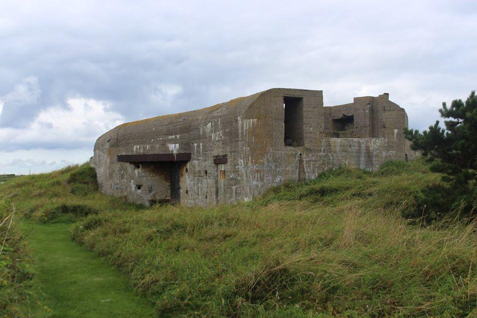 War bunker from WW2