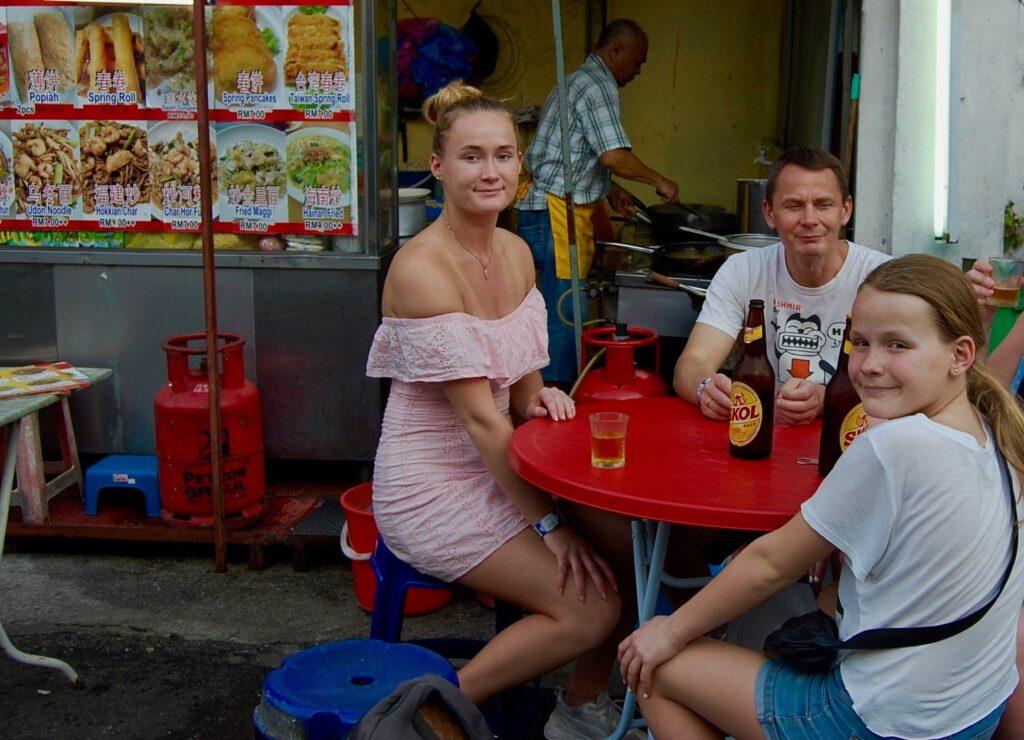 Street kitchen Penang.