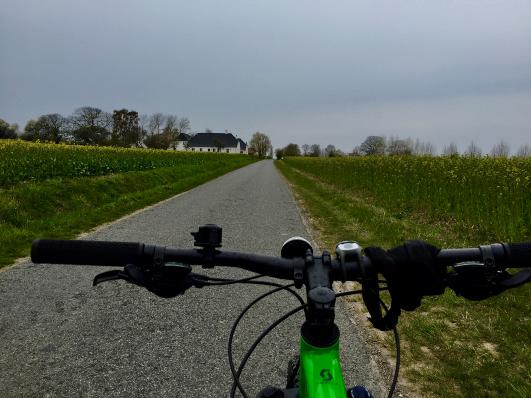 Island hopping bicycle