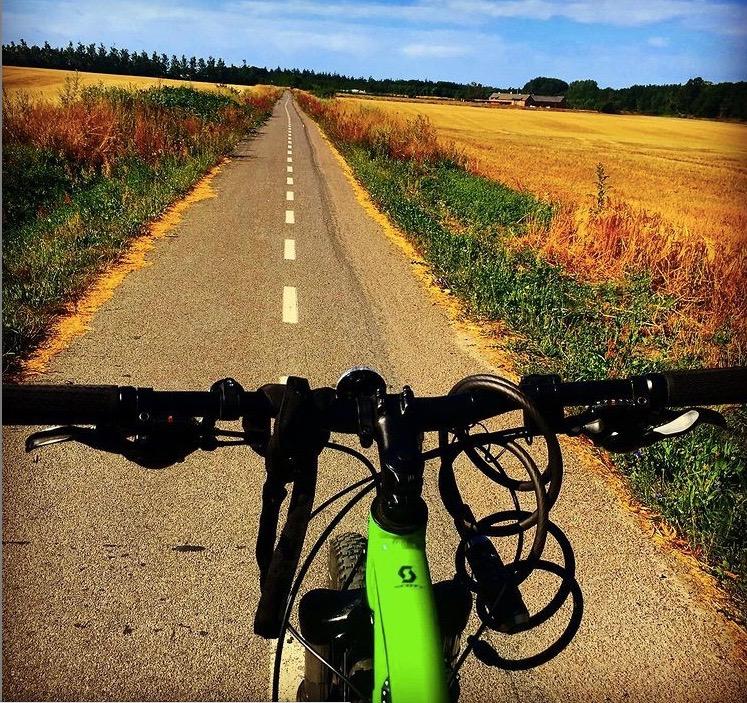 Cycling around Denmark.