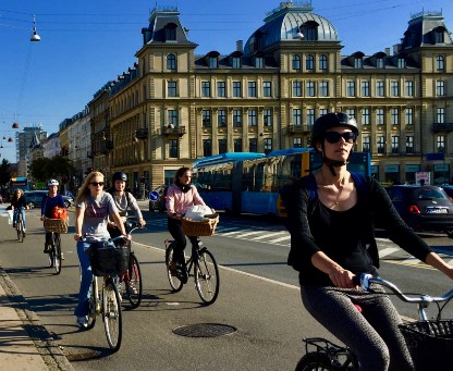 Copenhagen bicycle city