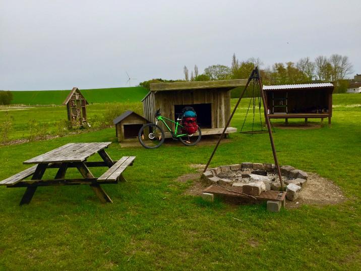 shelter camping Denmark